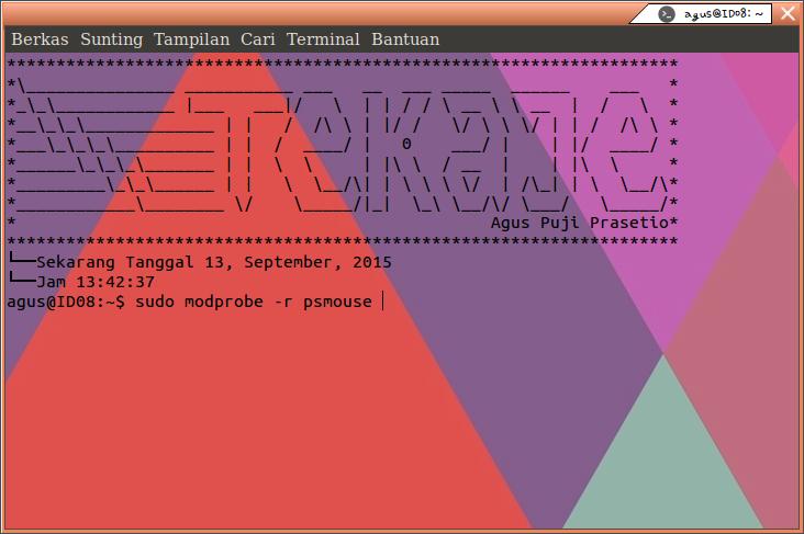 Cara Mengatasi touchpad yang tidak bisa berfungsi di Linux Ubuntu