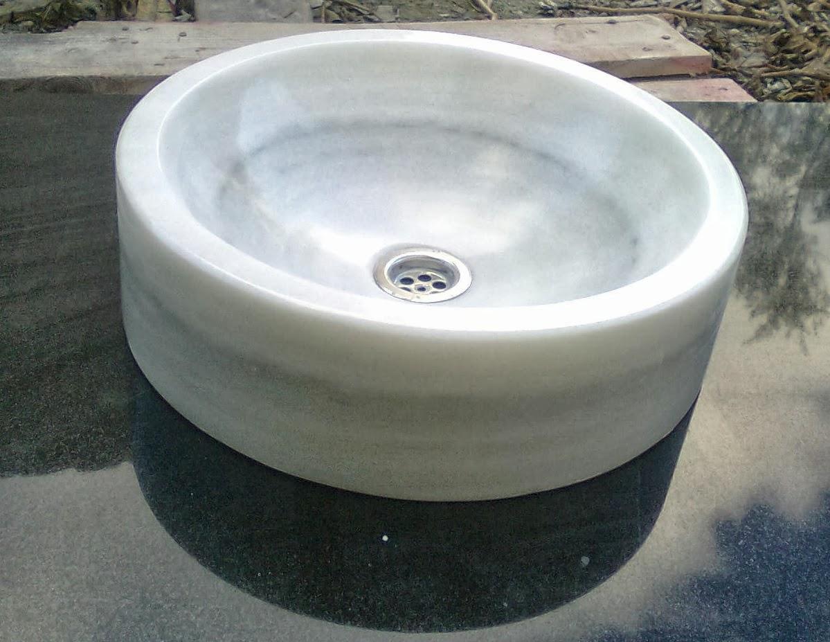 Soares revestimientos lavabos en piedra natural for Marmol blanco macael