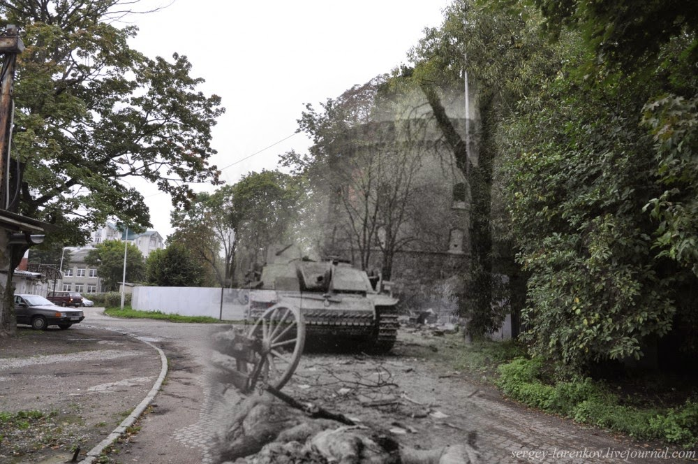 13 Ghostly Photos Of Kaliningrad Looked Both In World War