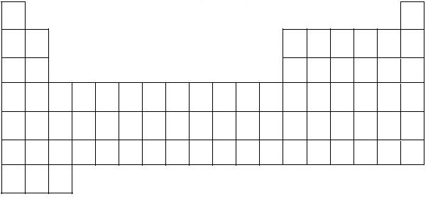 Tabla periodica en blanco completa images periodic table and esqueleto de la tabla periodica completa imagui esqueleto de tabla periodica imagui flavorsomefo images urtaz Gallery
