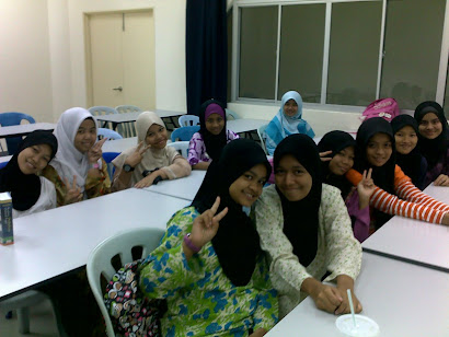 Kelas Percuma Remaja Perempuan di Masjid Bandar Tasik Puteri, Rawang, Selangor