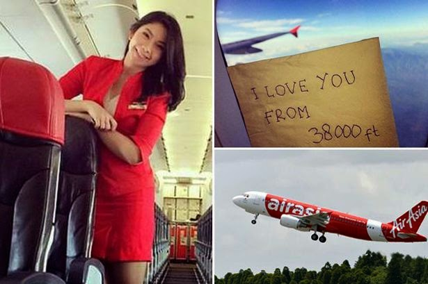 "Flight Attendant From AirAisa Flight QZ8501 Left An ""I Love You"" Message Moments Before Her Death"