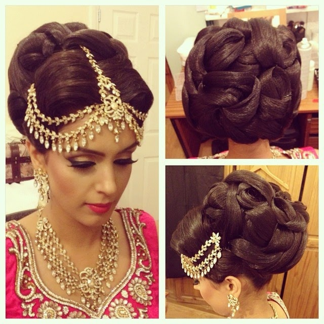 Aamir Naveed Bridal Hairstyles 2017 Stylish Hair Styles For Wedding Day