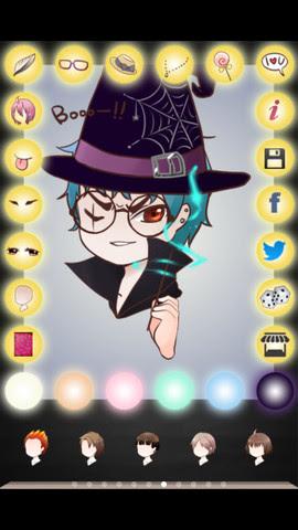 Phần mềm vẽ ảnh Chibi ,cho điện thoại Android, iOS
