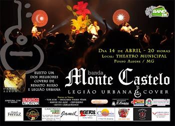 Show da Banda Monte Castelo em Pouso Alegre - MG.