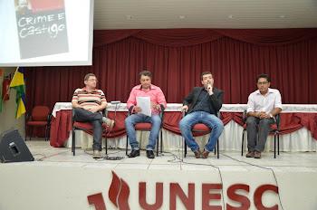 """MESA-REDONDA: """"CRIME E CASTIGO"""" DE DOSTOIÉVSKI: UM OLHAR PSICANALÍTICO, JURÍDICO E LITERÁRIO"""