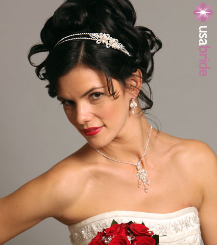Wedding Hairstyle with Headbands wedding hairstyles with headband