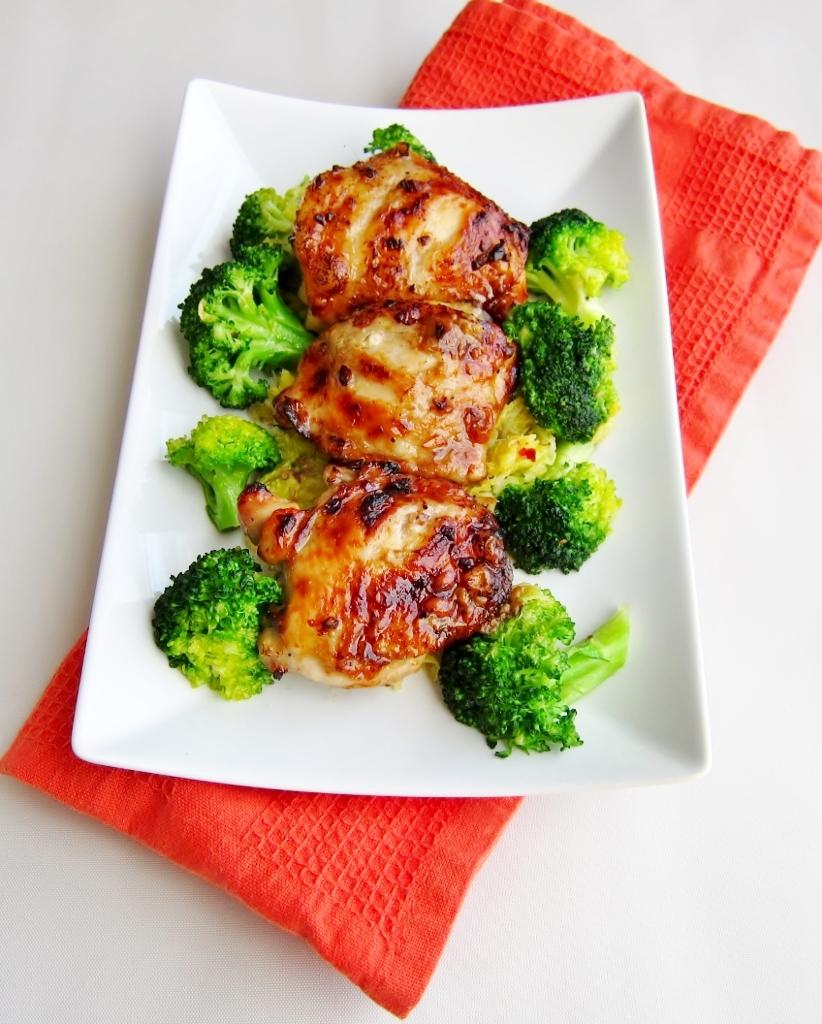 Japanese Style Roast Chicken Thighs recipe | nomsieskitchen.com