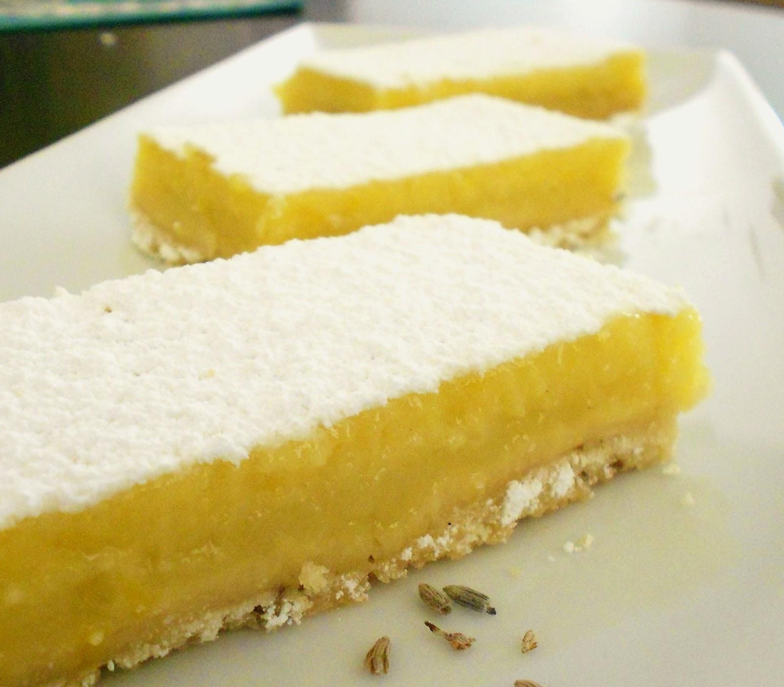 OriginalCinn: Lavender Lemon Bars