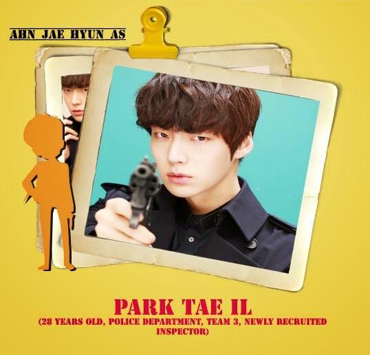 Ahn jae hyun sebagai Park tae il