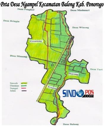 Profil Desa & Kelurahan, Desa Ngampel Kecamatan Balong Kabupaten Ponorogo