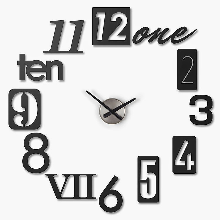 Reloj de Pared de Diseño DIY