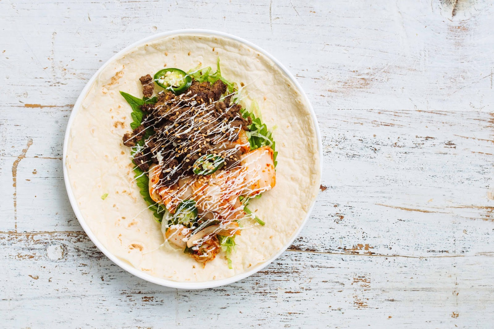Recipe: Beef Bulgogi and Kimchi Wrap