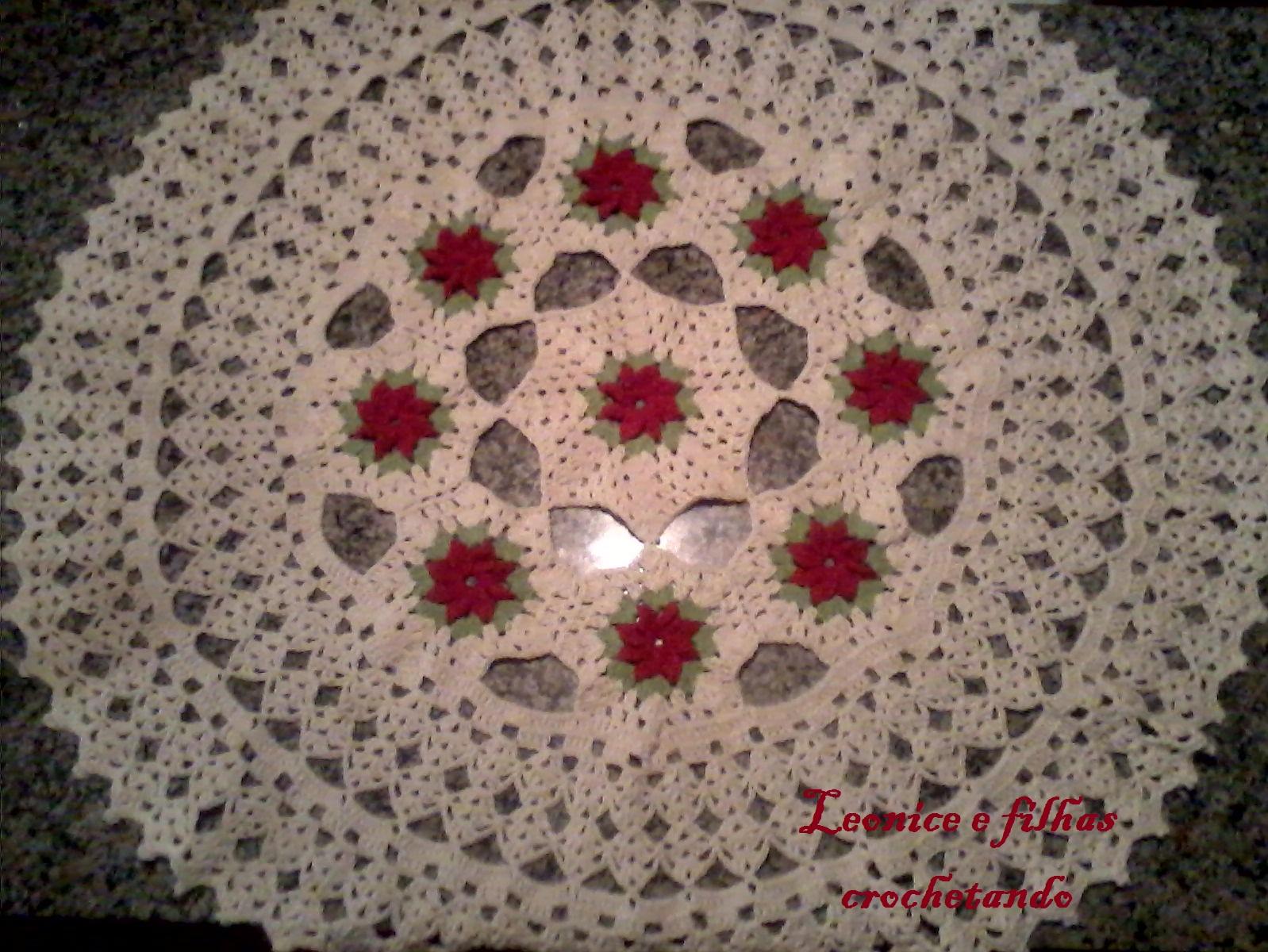 Tapete Redondo Com Flores De Croche | Consejos De Fotografía
