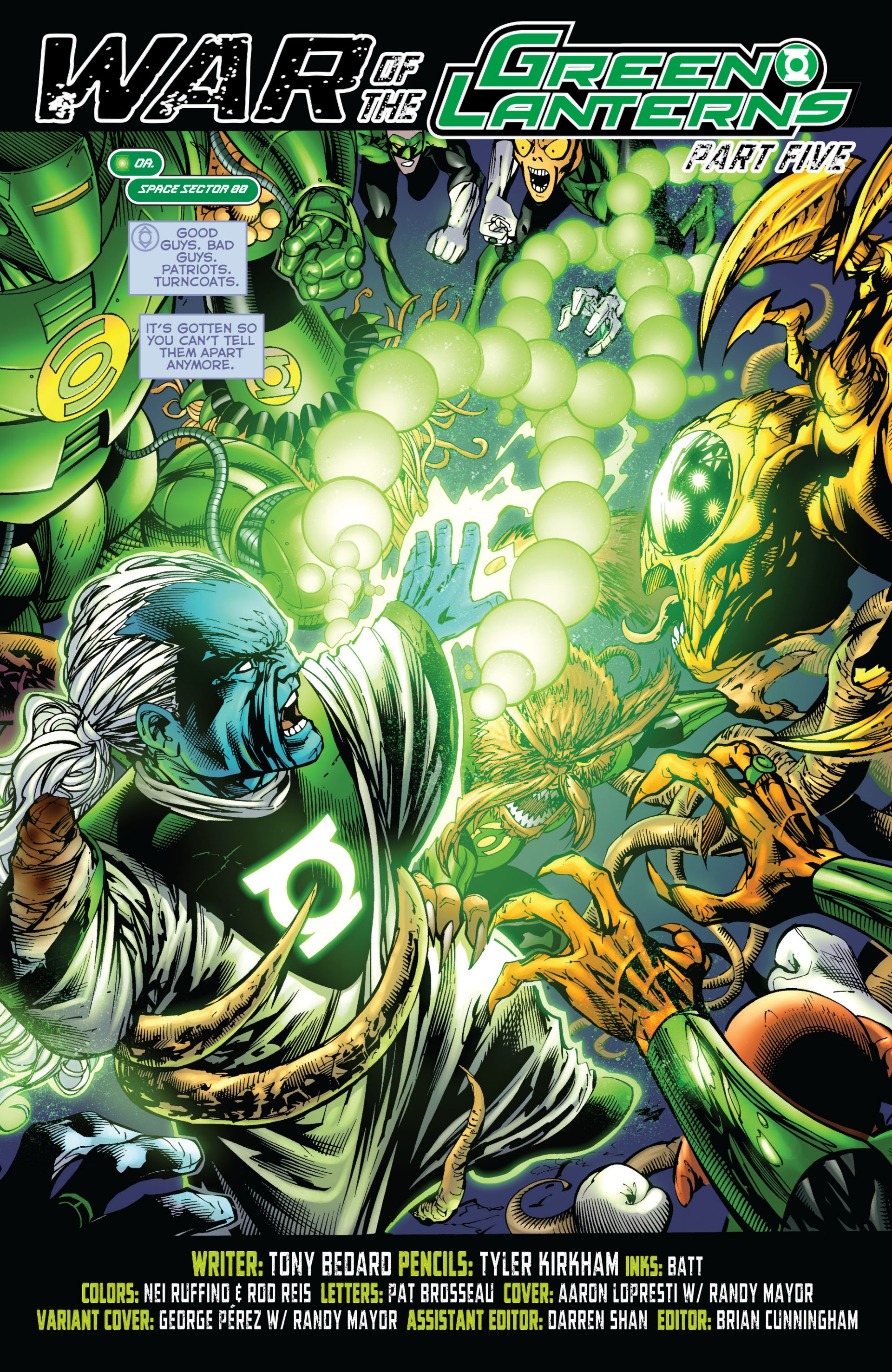 Read online Green Lantern Corps (2006) comic -  Issue #59 - 3