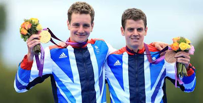 The Brownlee brothers are champions after winning big in London olympics triathlon