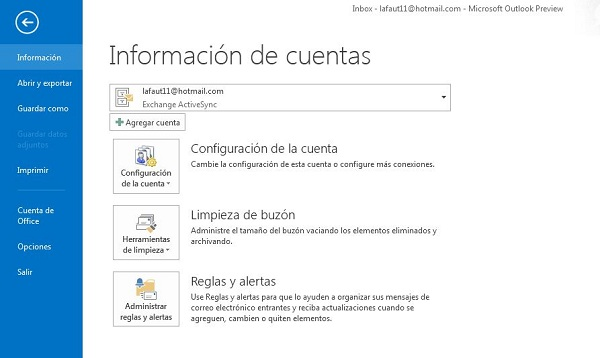 outlook 2013 image 01 Outlook, how to sync your Gmail with Outlook 2013