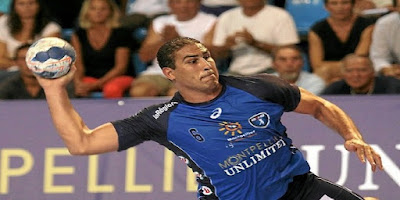 L'international tunisien de handball Issam Tej