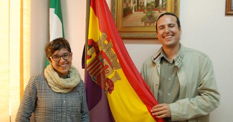 IU mantendrá la bandera republicana en el Ayuntamiento de Rincón de la Victoria (Málaga)