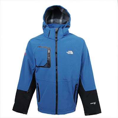Best The North Face Triclimate Goretex Jackets Men Blue