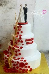 My first wedding cake :)