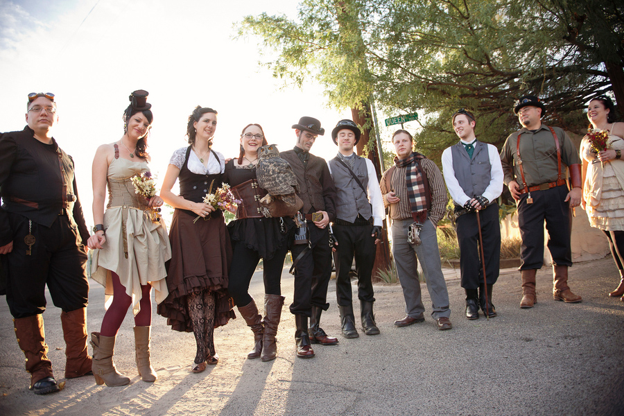 steampunk wedding in arizona