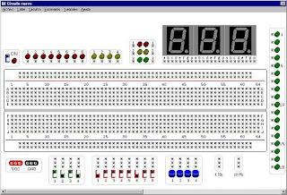 Constructor virtual y Simulador de circuitos electronicos