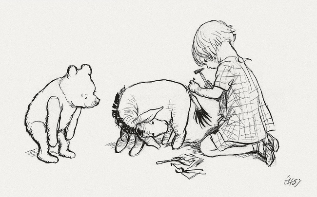 15 Incredibly Wise Truths We Learned From Winnie The Pooh - Weeds are flowers, too, once you get to know them.