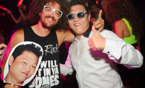 Psy & Redfoo LMFAO Di Vegas 01