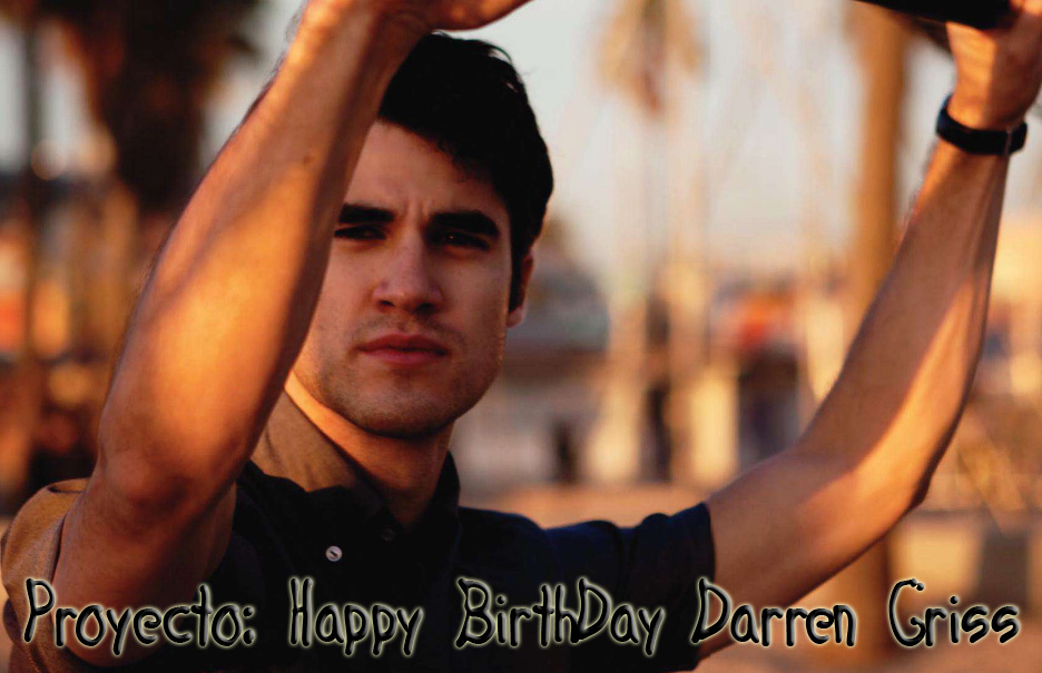 Proyecto: Happy BirthDay Darren Criss