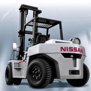 xe nang xang gas Nissan