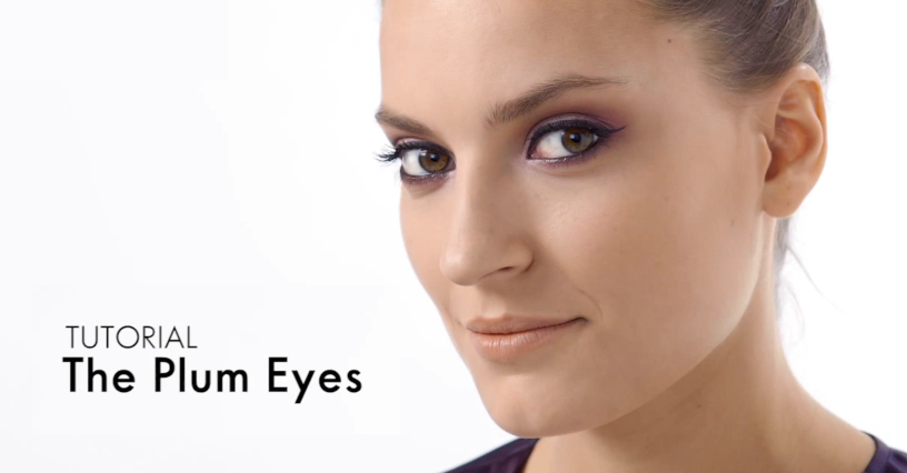 Maquilhagem de Olhos em Tom de Ameixa: Passo a Passo