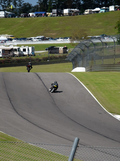 Racing motorcycles Barber Motorsports Park