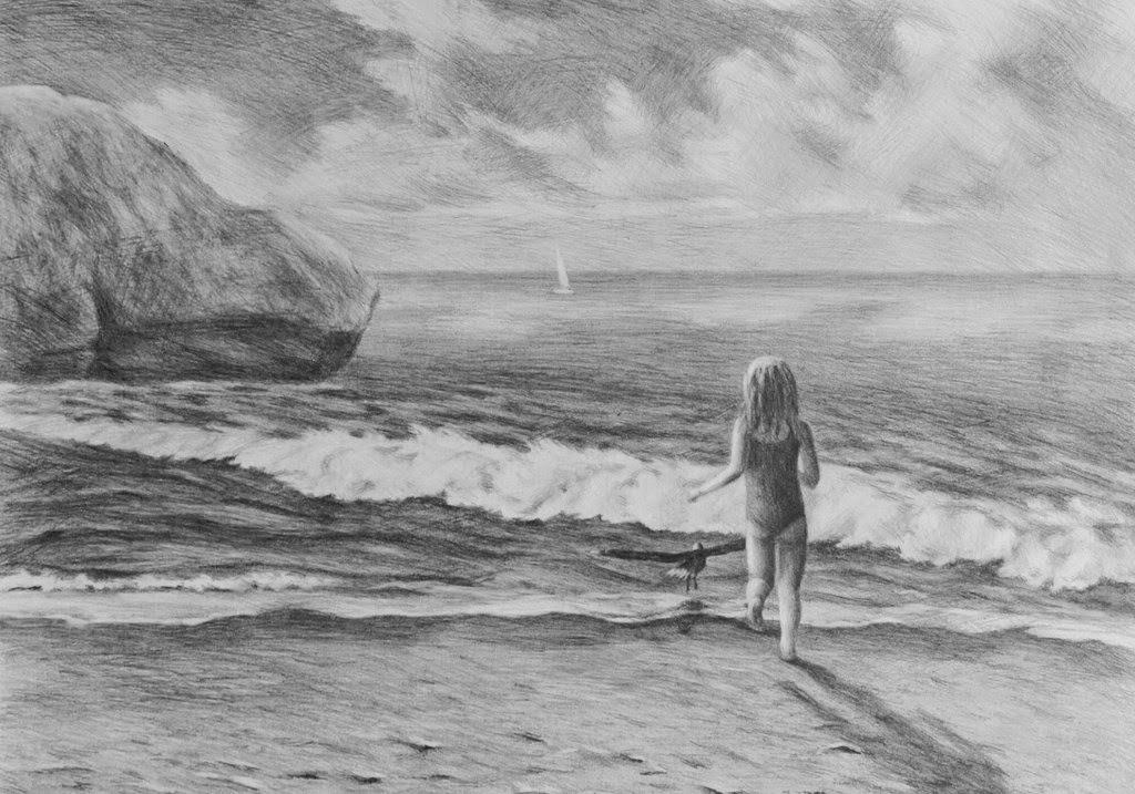 paisajes-marinos-dibujos-a-lapiz