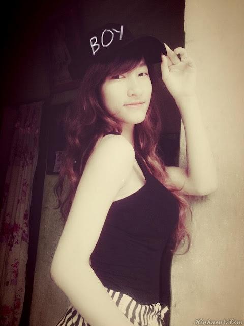 girl xinh Linh tây
