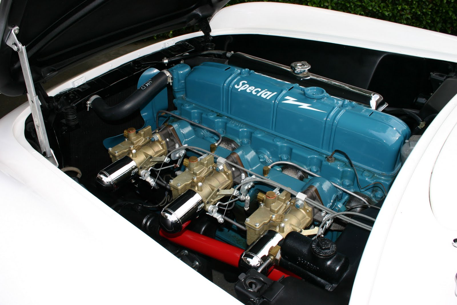 The All Gm Blog 1953 Chevrolet Corvette Additional Wiring Diagram For Passenger Cars Convertible A 150hp Blue Flame Special Powered Corvettes It Was Modified Version Of Engine Used In Other Chevy