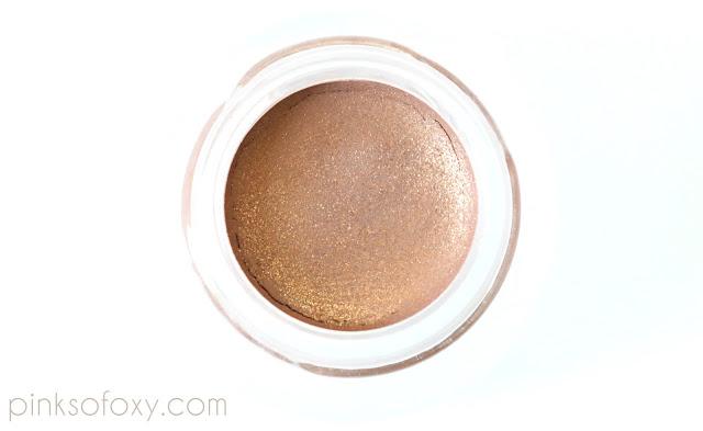 100% Pure Bora Bora Eyeshadow Swatches