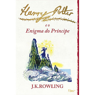 harry potter livro nova capa enigma do príncipe
