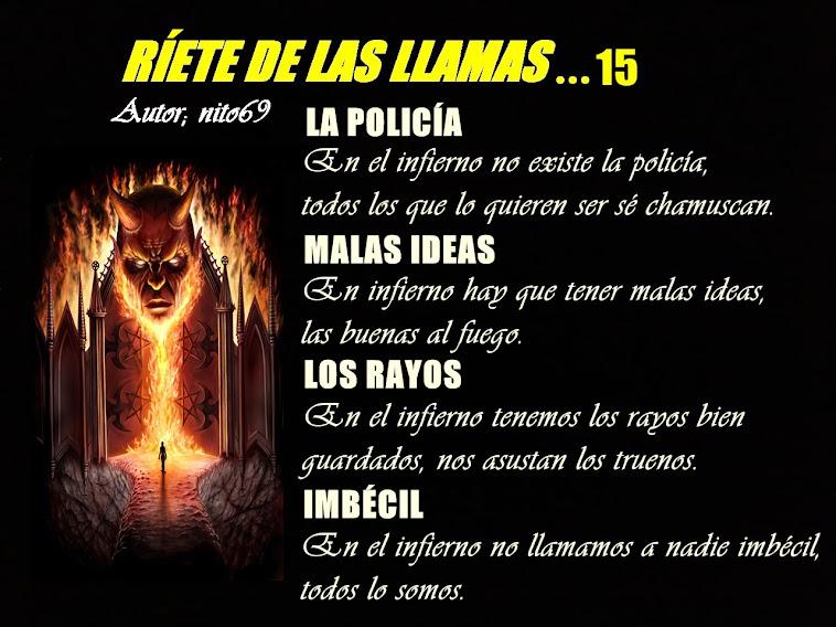 RÍETE DE LAS LLAMAS…15