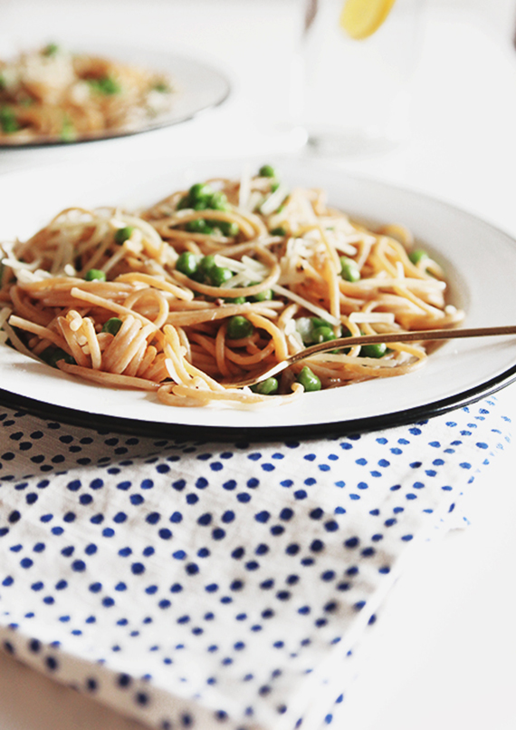 One pot pantry pasta recipe via The Faux Martha