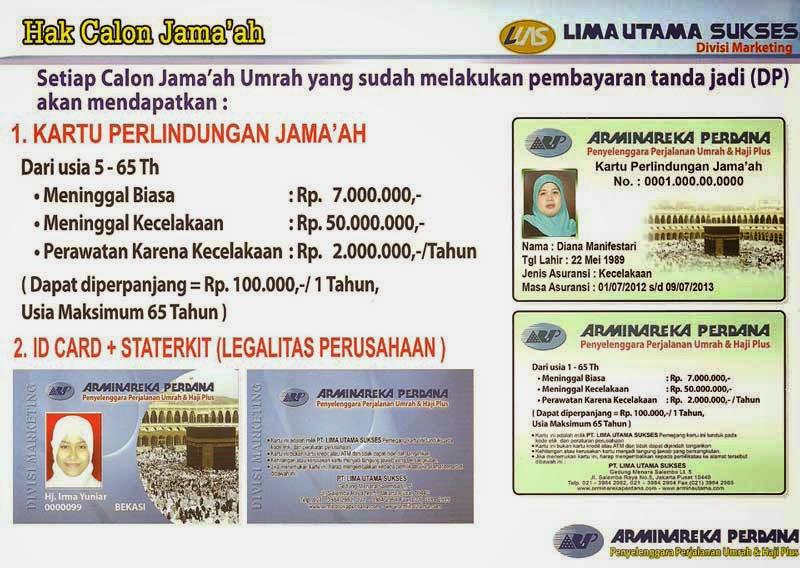 Hak Calon Jamaah Umrah dan Haji Plus Arminareka Perdana