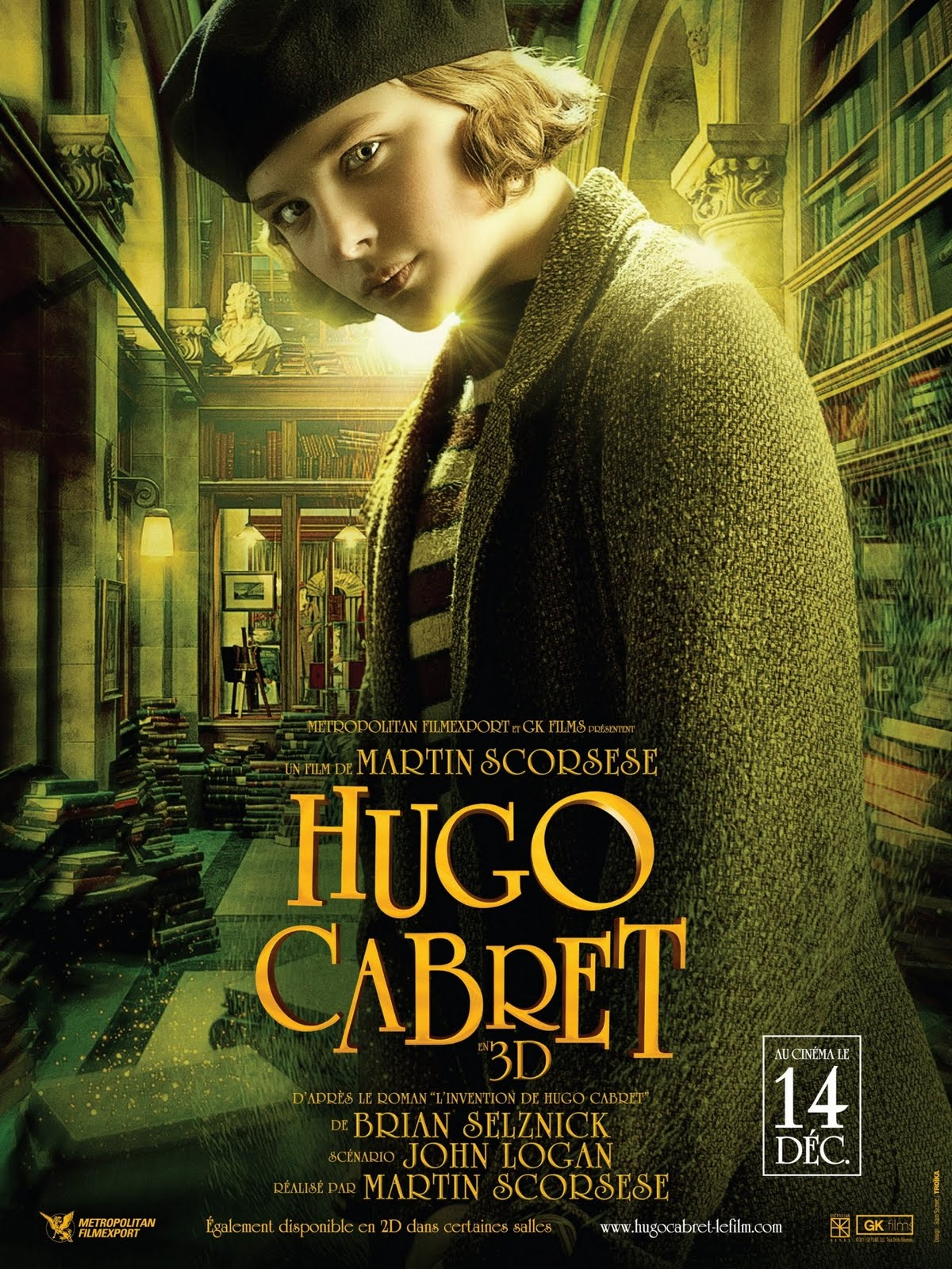 hugo cabret Hugo cabret [to isabelle] i'd imagine the whole world was one big machine machines never come with any extra parts, you know they always come with the exact amount.