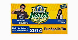 Marcha para Jesus 2014 de Eunápolis-BA.