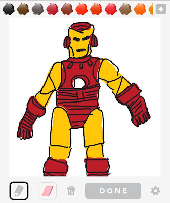 Draw Something, Iron Man, Iron Man Drawing, App, Game, Avengers