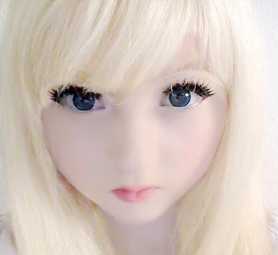 Venus Palermo a.k.a Venus Angelic, the 15 years old 'living doll' girl from London.