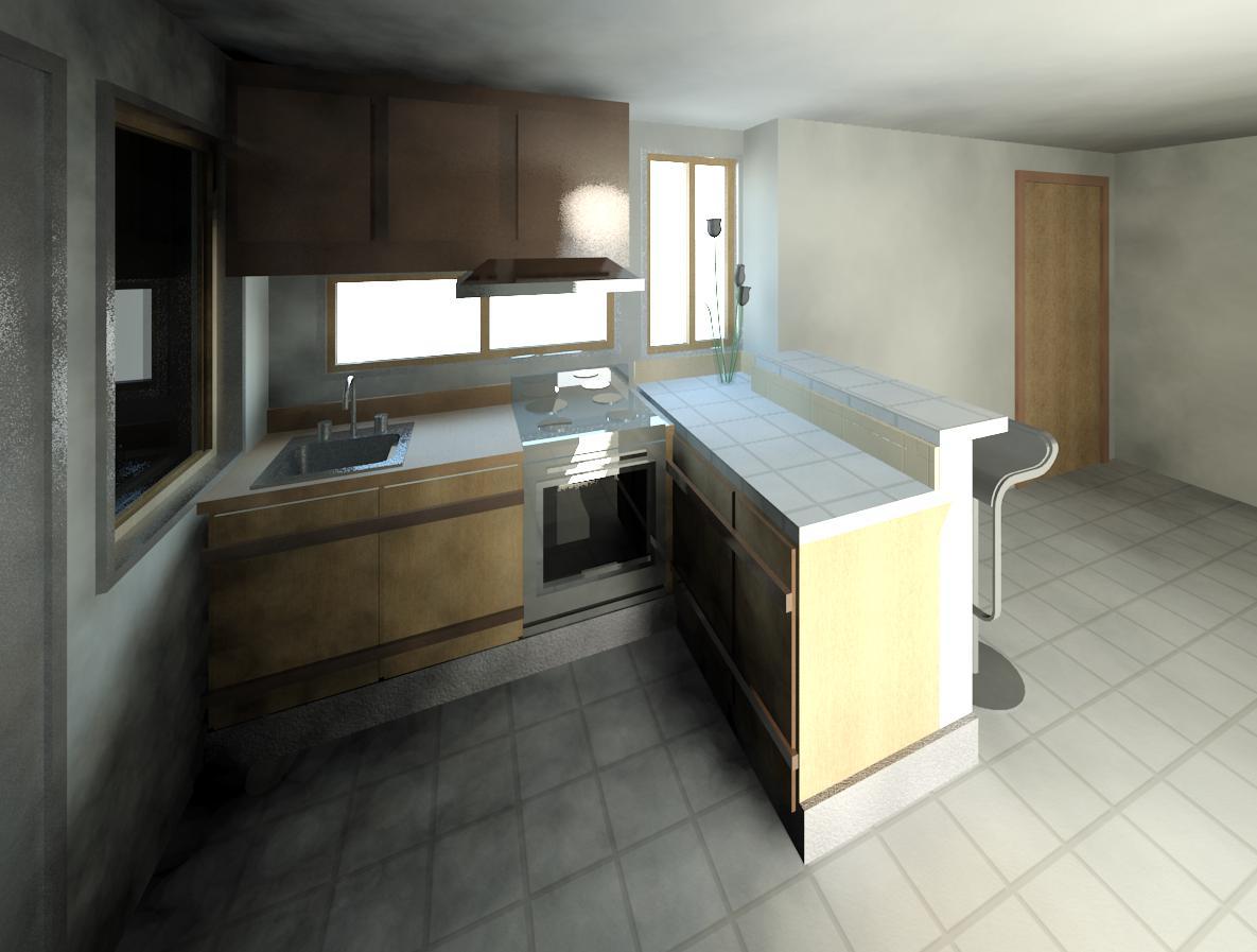 Dibujando planos propuesta de dise os para barra cocina for Disenos de barras