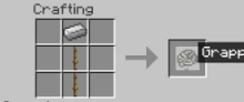 Rope Plus Mod grappling hook crafting