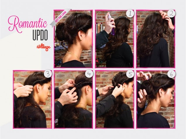 valentine's day hair tutorial