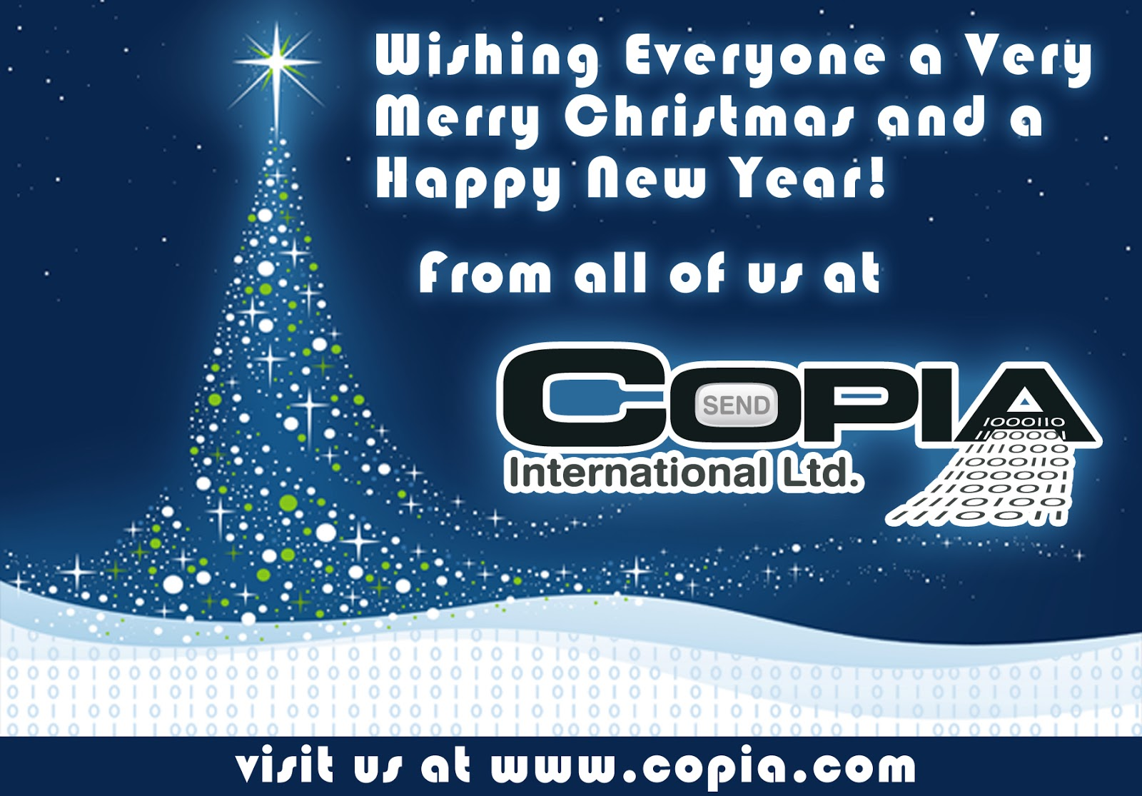 Lately by copia seasons greetings we hope you have a peaceful holiday season copia offices will be closed until monday january 6th but we will try to respond to any urgent support e mail m4hsunfo