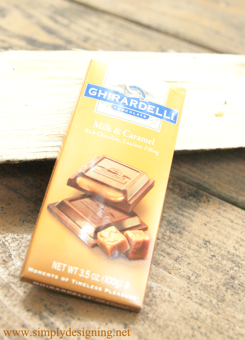 Ghirardelli Milk Chocolate Shortbread Cookies